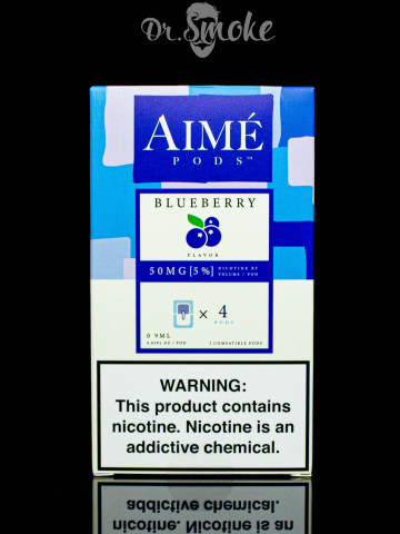 Aime Pods Compatible with JUUL - Blueberry