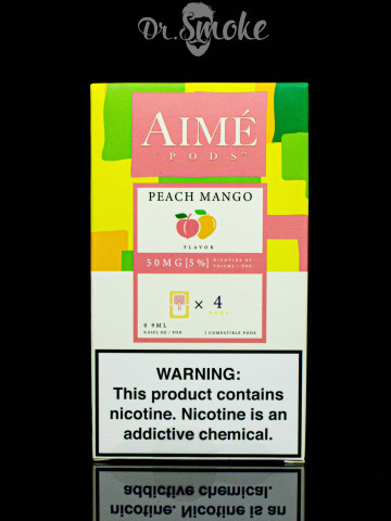 Aime Pods Compatible with JUUL - Peach Mango