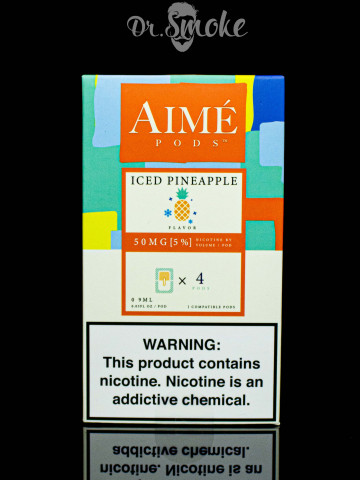Aime Pods Compatible with JUUL - Iced Pineapple