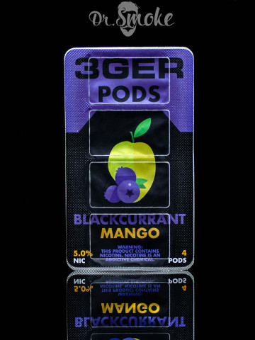 3GER Compatible with JUUL - BLACKCURRANT MANGO