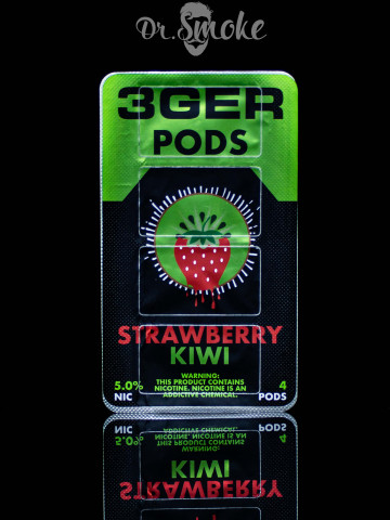 3GER Compatible with JUUL - STRAWBERRY KIWI