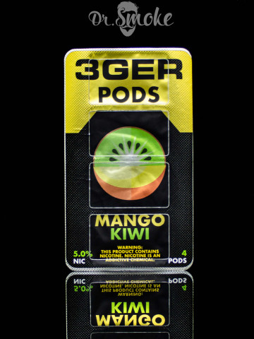3GER Compatible with JUUL - MANGO KIWI