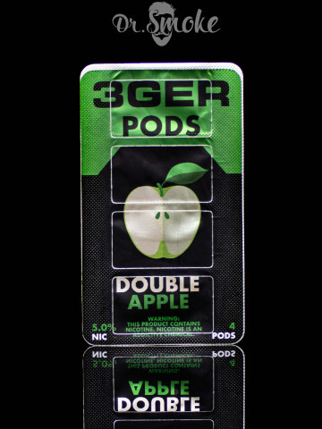 3GER Compatible with JUUL - DOUBLE APPLE