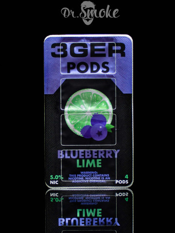 3GER Compatible with JUUL - BLUEBERRY LIME