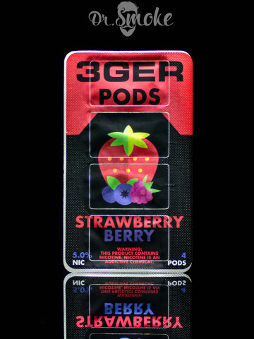 3GER Compatible with JUUL - STRAWBERRY BERRY