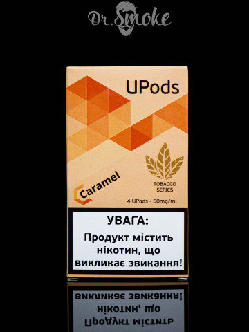 UPods Compatible with JUUL - Caramel