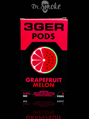 3GER Compatible with JUUL - GRAPEFRUIT MELON