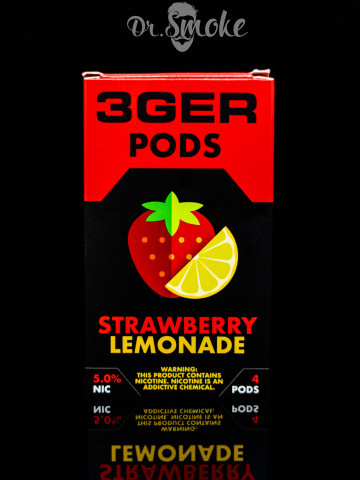 3GER Compatible with JUUL - STRAWBERRY LEMONADE