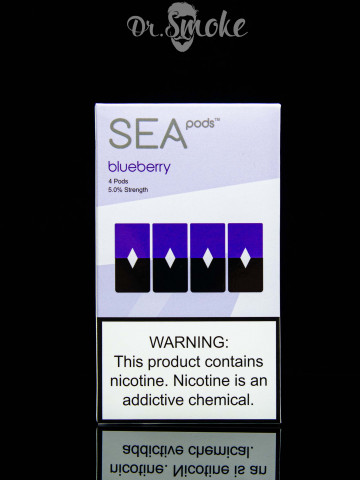 Купить - SEA pods Compatible with JUUL - Blueberry