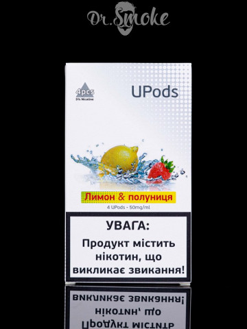 UPods Compatible with JUUL - Клубника & Лимон
