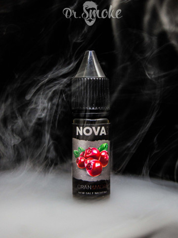 Жидкость NOVA Salt CRAN&MORS (15мл)