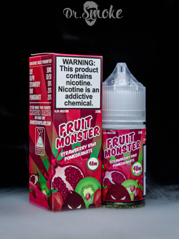 Жидкость Fruit Monster Salt - Strawberry Kiwi Pomegranate