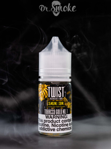 Lemon Twist Salt Tobacco Gold No.1