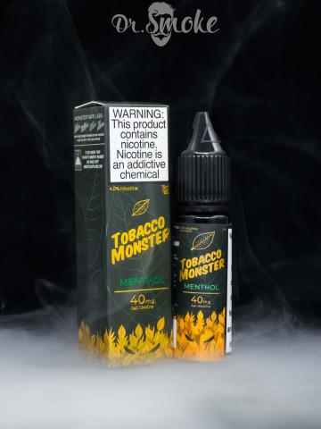 Жидкость Tobacco Monster Salt Menthol