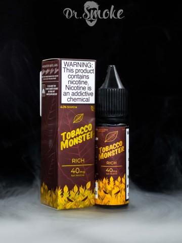 Жидкость Tobacco Monster Salt Rich