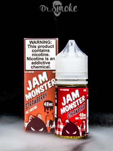 Жидкость Jam Monster Salt Strawberry Salt