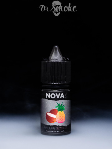 Жидкость NOVA Salt PINEAPPLE&COCO