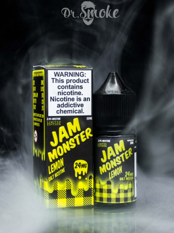 Жидкость Jam Monster Salt Lemon
