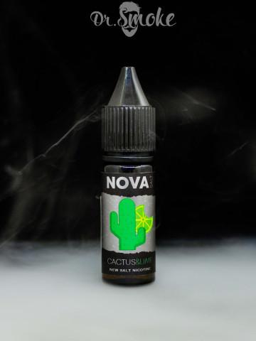 Жидкость NOVA Salt CACTUS&LIME (15мл)
