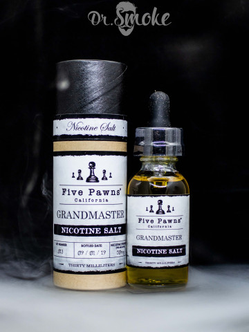 Жидкость Five Pawns Salt Grandmaster