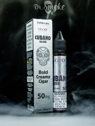 Vgod salt Cubano Silver Bold Creamy Cigar