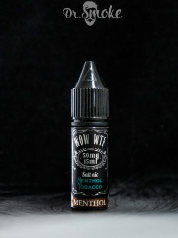 Жидкость WTF Salt Menthol Tobacco