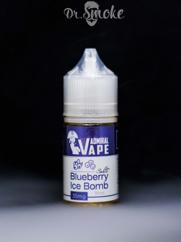 Жидкость Admiral Vape Blueberry Ice Bomb