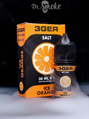 Жидкость 3GER Salt ICE ORANGE (30 мл)