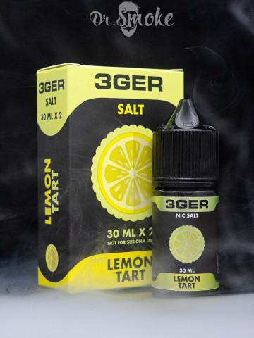 Жидкость 3GER Salt LEMON TART (30 мл)