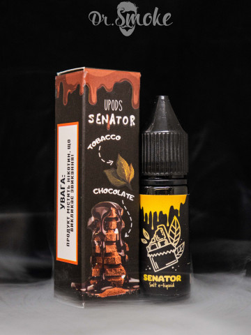 Жидкость UPods Senator Tobacco Chocolate