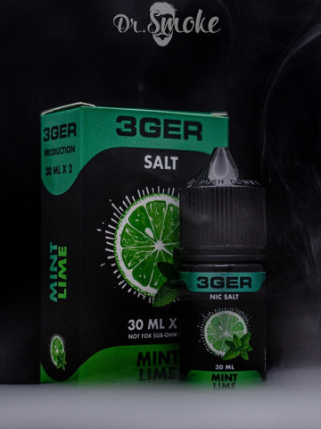 3GER Salt LIME MINT (30 мл)