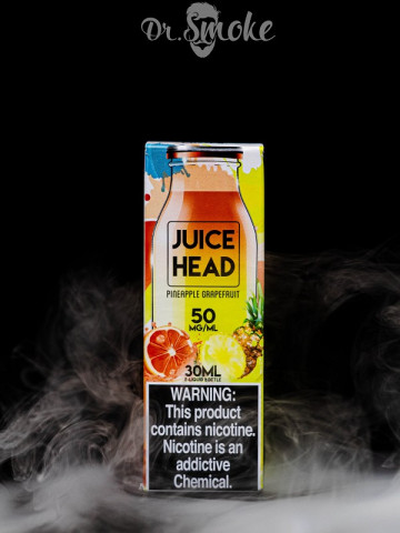 Жидкость Juice Head Salt Pineapple Grapefruit
