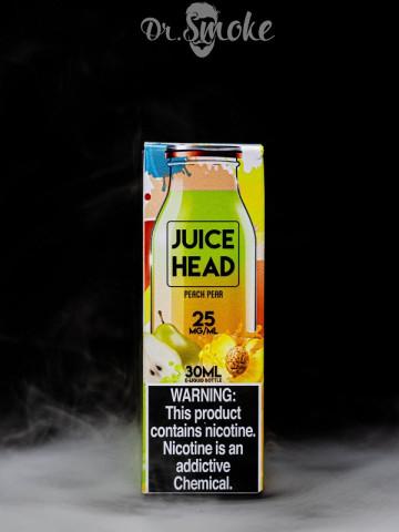 Жидкость Juice Head Salt Peach Pear