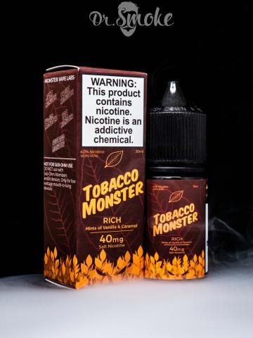 Tobacco Monster Salt Rich