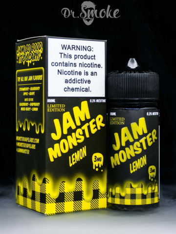 Жидкость Jam Monster Lemon