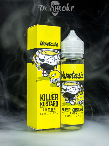 Жидкость Vapetasia Killer Kustard Lemon