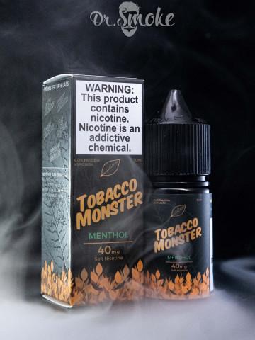 Tobacco Monster Salt Menthol
