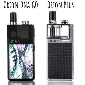 Orion DNA GO / Orion Plus DNA от Lost Vape